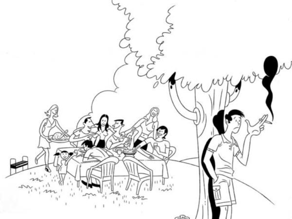 La incomodidad de fumar